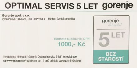 OPTIMAL servis 5 let